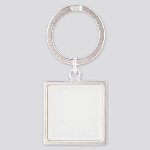 i_love_accuracy_light Square Keychain
