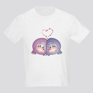 Hippo Love Kids T-Shirt