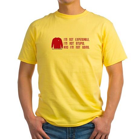 Red Shirt Society Yellow T-Shirt