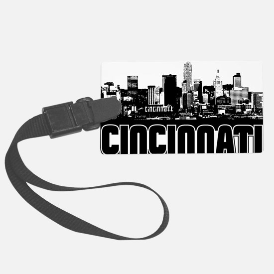 Cincinnati Skyline Luggage Tag