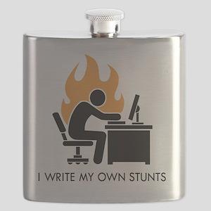 write stunts-white shirt Flask