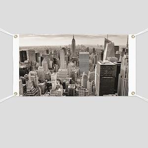 Manhattan, New York Banner