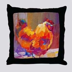 Mother Henn Throw Pillow