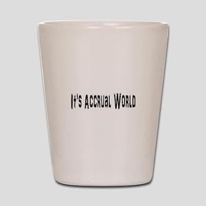 Accural World Shot Glass