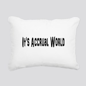 Accural World Rectangular Canvas Pillow