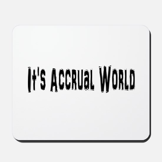 Accural World Mousepad