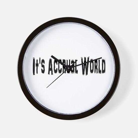 Accural World Wall Clock