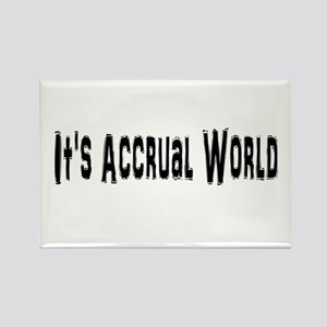 Accural World Rectangle Magnet