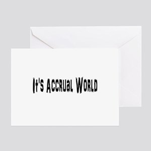 Accural World Greeting Card