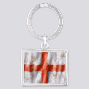 494 St George Cross b Landscape Keychain