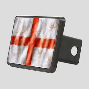 494 St George Cross b Rectangular Hitch Cover