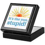 Global Warming Sun Keepsake Box