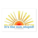 Global Warming Sun Postcards (Package of 8)