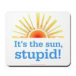 Global Warming Sun Mousepad