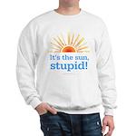 Global Warming Sun Sweatshirt