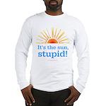 Global Warming Sun Long Sleeve T-Shirt