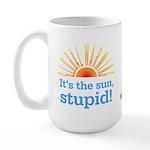Global Warming Sun Large Mug