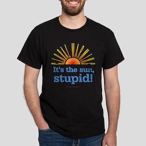 Global Warming Sun Dark T-Shirt