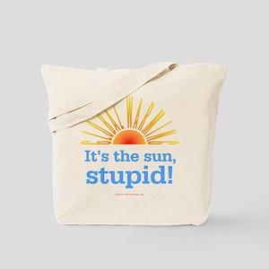 Global Warming Sun Tote Bag