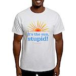 Global Warming Sun Light T-Shirt