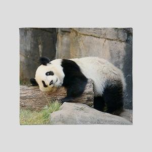 panda1 Throw Blanket