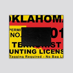 terrorist-hunting-license-XL-OK Picture Frame
