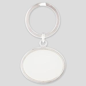 iProd_dark Oval Keychain