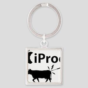 iProd_lite-crop Square Keychain