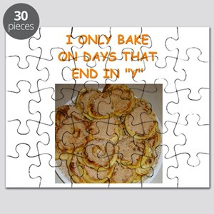 funny bake baker baking joke Puzzle