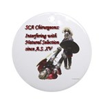 Natural Selection Ornament (Round)