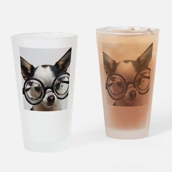 CHI Glasses L print Drinking Glass