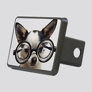 CHI Glasses panel print Rectangular Hitch Cover