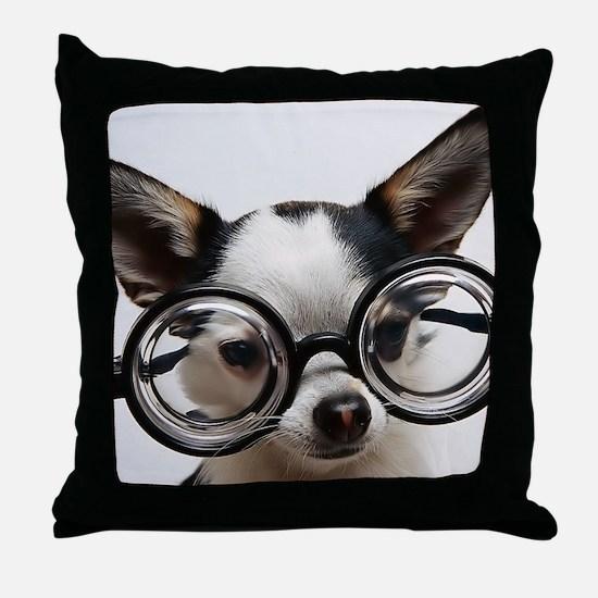 CHI Glasses panel print Throw Pillow