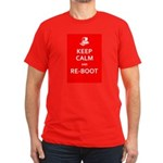 Keep Calm and Re-Boot T-Shirt