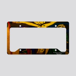 Ethiopia42by28 License Plate Holder
