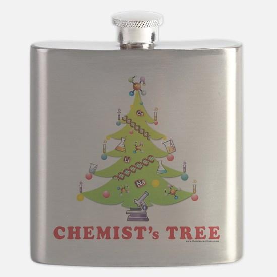 Chemist Christmas Tree! Flask