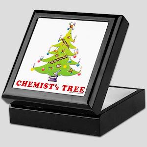 Chemist Christmas Tree! Keepsake Box