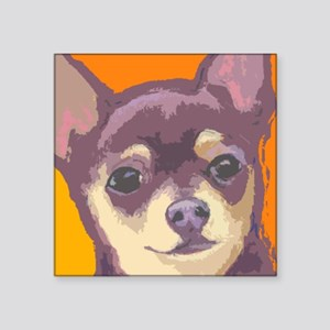 "chihua cafe Square Sticker 3"" x 3"""