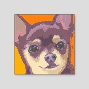 "chihua cafe Square Sticker 3"" x 3"""
