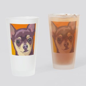 chihua cafe Drinking Glass