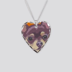chihua cafe Necklace Heart Charm