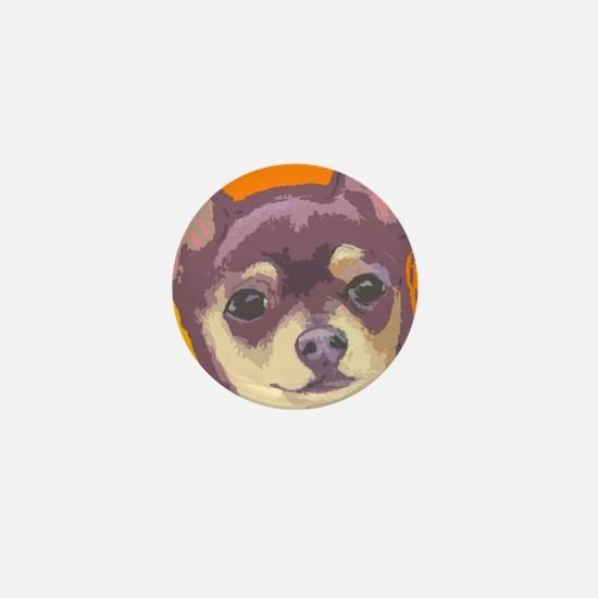 chihua cafe Mini Button