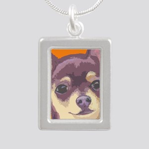 chihua cafe Silver Portrait Necklace