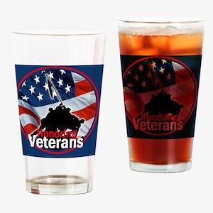 Honoring Veterans Drinking Glass