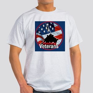 Honoring Veterans Light T-Shirt