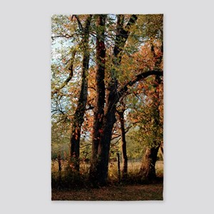 fall_trees_lgp 3'x5' Area Rug