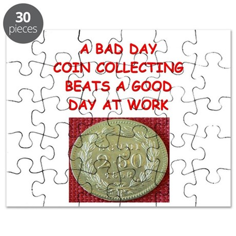 coin coins numismatist collector collecting Puzzle