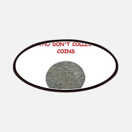 coin coins numismatist collector collecting Patche