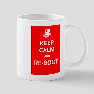 Keep Calm and Re-Boot Mugs
