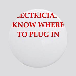 ELECTRIC Ornament (Round)